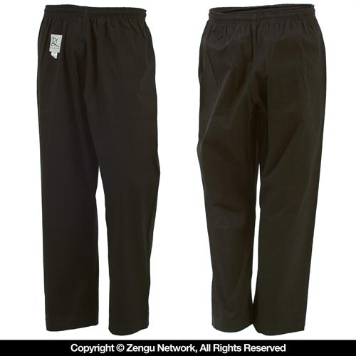 KD Elite Heavyweight Black Karate Pants